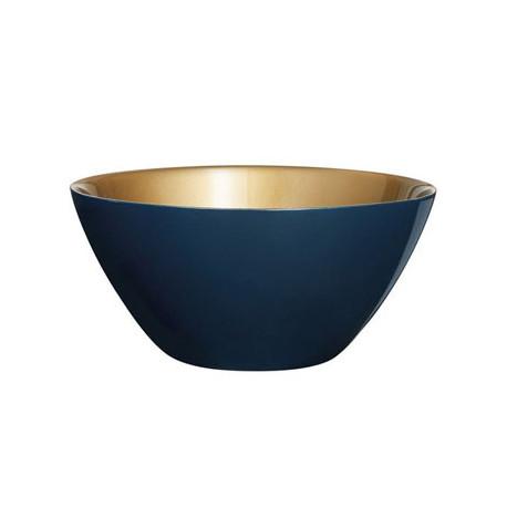 Салатник 23 см Luminarc Orme Blue/Gold N6906