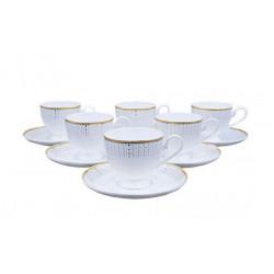 Сервиз чайный 12пр Костяной премиум SX12-4