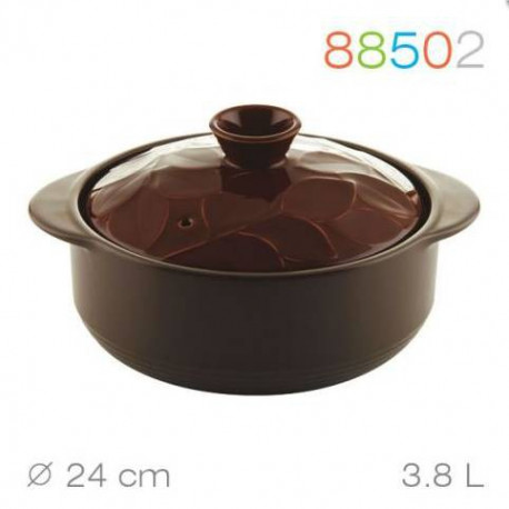 Кастрюля керамика 24 см - 3,8 л Lauro Granchio 88502