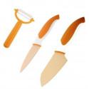 Нож керамический  сантоку 14 см Berghoff Eclipse 3700100