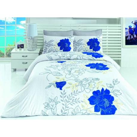 Комплект постельного белья евро LightHouse Turkuaz голубой
