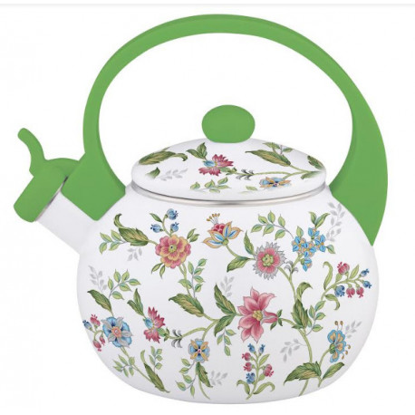 Чайник эмалированный 2,2л Interos 30/L GREEN