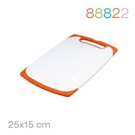 Доска разделочная 25*15*0.9 оранжевая Granchio 88822