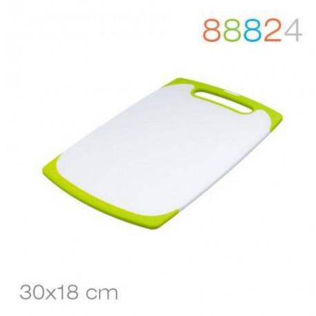 Доска разделочная 30*18*0.9 зеленая Granchio 88824