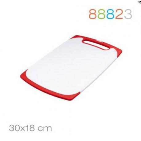 Доска разделочная 30*18*0.9 красная Granchio 88823