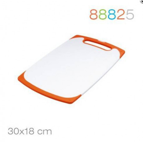 Доска разделочная 30*18*0.9 оранжевая Granchio 88825