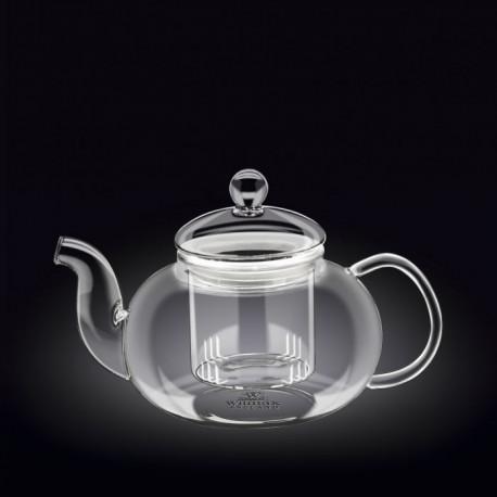 Заварочный чайник с металлическим ф-м Wilmax Thermo 1200мл WL-888815/A