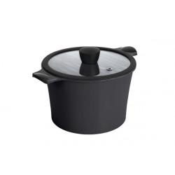 Кастрюля 7,0л 24см Ringel Zitrone Black RG-2108-24/2 BL