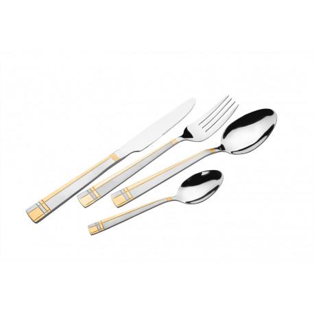 Набор ножей столовых 6шт Lessner Goldie 61453