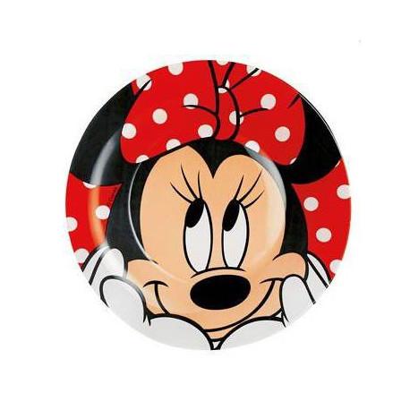 Luminarc Disney Oh Minnie.Тарелка десертная круглая 19см H6438