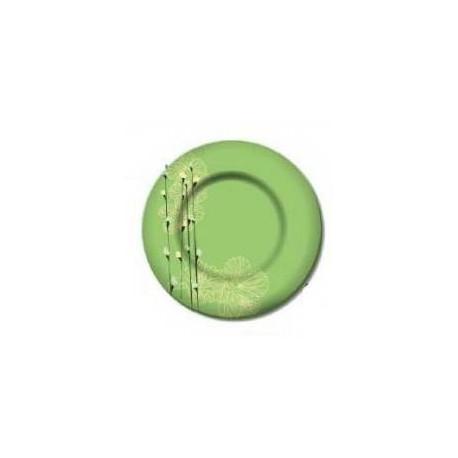 Тарелка обеденная 25см Luminarc Rhapsody Green H7309
