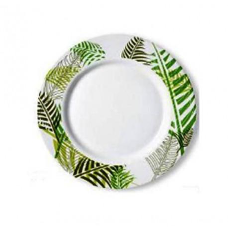 Тарелка глубокая 22см Luminarc Green Forest H8450