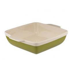 Прямоугольная форма д/выпечки Natura Oliva Green Ceramica Granchio 88511
