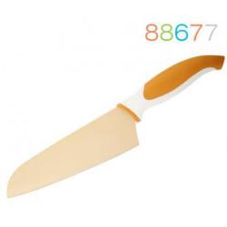 Нож 18 см сантоку оранжевый Granchio 88677