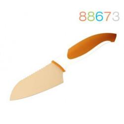 Нож Granchio сантоку оранжевый 88673
