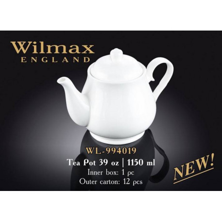 Wilmax Чайник заварочный 1150мл.Color WL-994019/1C