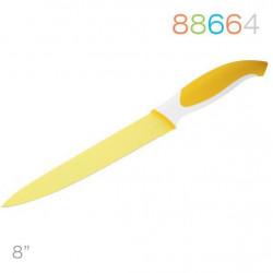 Нож 20 см для мяса желтый Granchio 88664