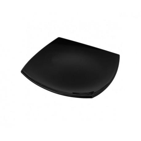 Тарелка десертная 19см Luminarc Quadrato Black H3670