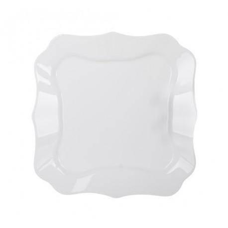 Тарелка десертная 20,5см Luminarc Authentic White J4701