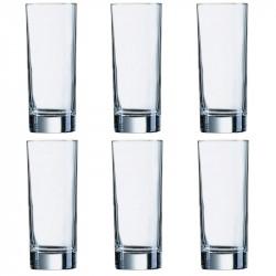 Набор стаканов высоких 220мл 3шт Luminarc Islande 8319