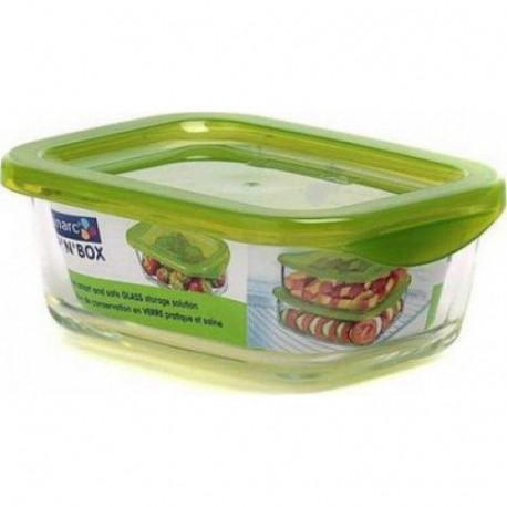 Емкость для еды прямоугольная 370мл Luminarс Keep'n'Box L8782