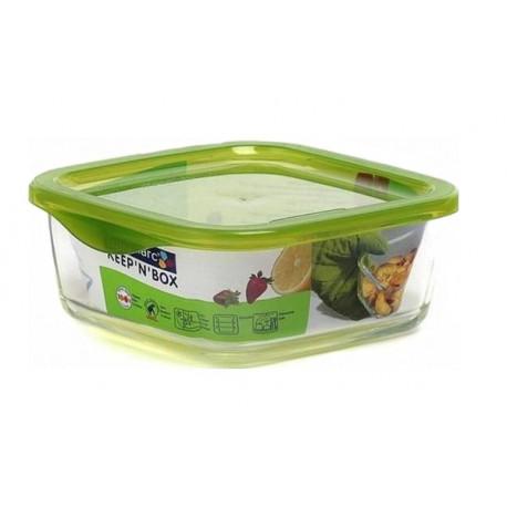 Емкость для пищи  квадратная 360мл Luminarc Keep'n'Box L8784