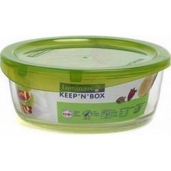 Емкость для еды круглая 670 мл Luminarc Keep'n'Box G8399