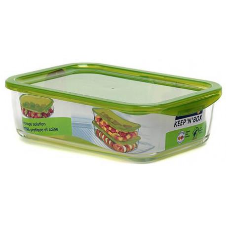 Емкость для еды прямоугольная 760мл Luminarс Keep'n'Box L8781