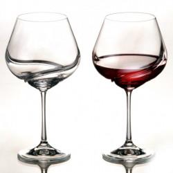 Бокалы для вина Bohemia Turbulence 570 мл-2шт