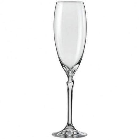Бокалы для шампанского Bohemia Lilly 220 мл-6шт
