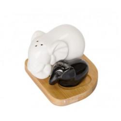 """Набор соль/перец """"Большой и маленький слоник"""" Krauff 21-275-011"""