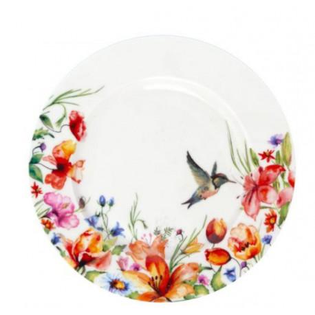 Тарелка десертная 19см Krauff Colibri 21-244-033