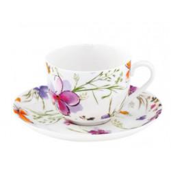 Чашка с блюдцем 100мл Krauff Aquarelle 21-244-010