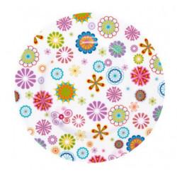 Тарелка десертная 19 см Krauff Blumen 21-244-011