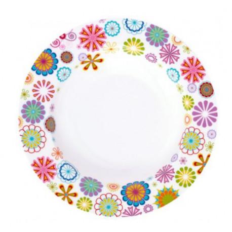 Тарелка глубокая 21,5 см Krauff Blumen 21-244-013