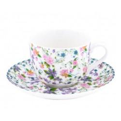 Чашка с блюдцем 100 мл Krauff Versailles 21-244-020