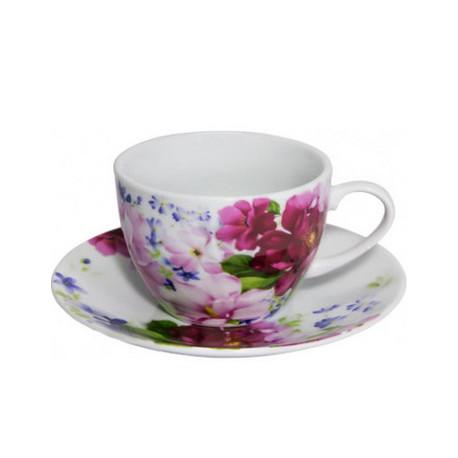 Сервиз чайный 12пр Keramia Шиповник K24-198-068