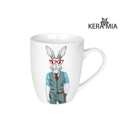 Кружка 360 мл Keramia Мистер Кролик 21-272-071