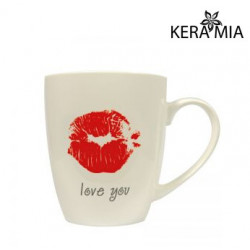 Кружка 360 мл Keramia Love you 21-272-020