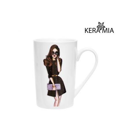 Набор кружек 390 мл Keramia Модная девушка 21-279-015