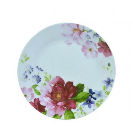 Тарелка десертная 19см Keramia Шиповник K24-198-070