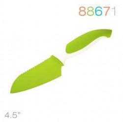 Нож 11,5 см сантоку зеленый Granchio 88671