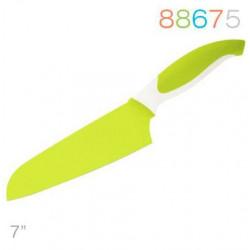 Нож 18 см сантоку зеленый Granchio 88675