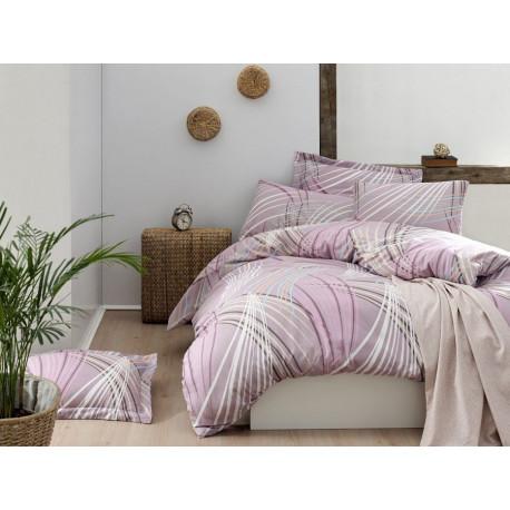Комплект постельного белья евро LightHouse - Intense розовый