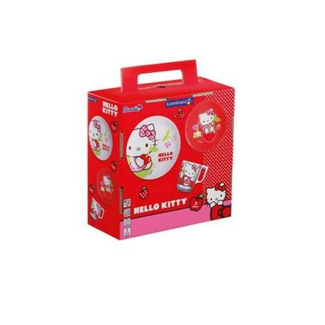 Набор для детей Luminarc Disney Hello Kitty Cherries -3пр. J0768