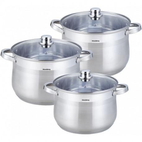 Набор посуды 6 пр Klausberg KB7178/4312