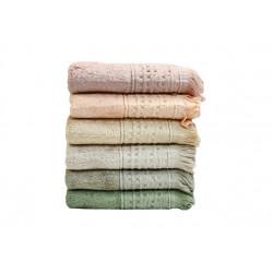 Набор полотенец 50х90 6шт IzziHome - S. Bamboo Alacati