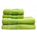 Полотенце махровое MaxStyle 50х90 Bambu S белое