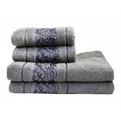 Полотенце махровое 70х140 LightHouse - Ottoman серый