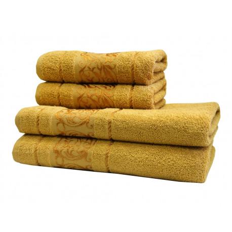 Полотенце махровое 70х140 LightHouse - Ottoman горчичный